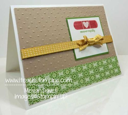 Stampin Up!'s Print Poetry with Patterned Occasions, SC6
