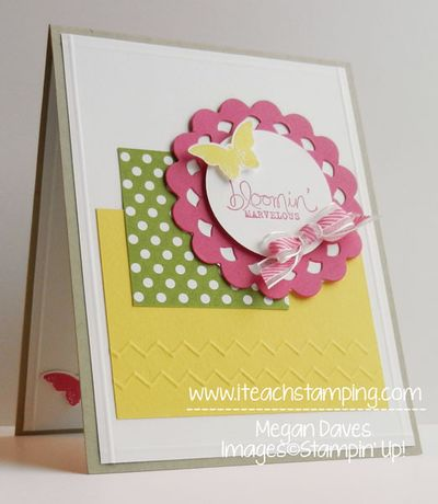 Tip for the Borders Scoring Plate with your Simply Scored From Stampin' Up! for card making and scrapbooking