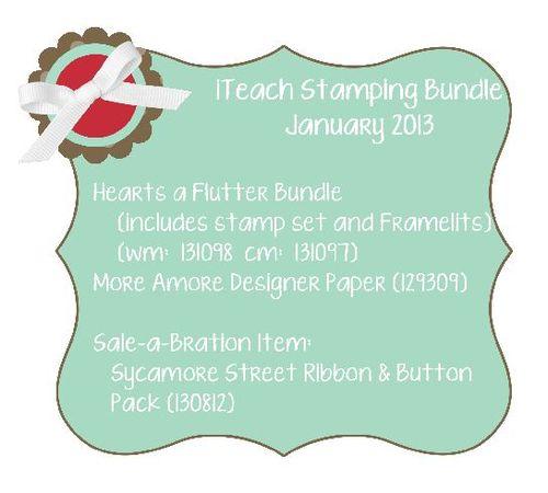 Bundle, stampin up, sale-a-bration, tutorial, stamping